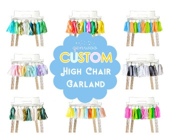 High Chair Garland