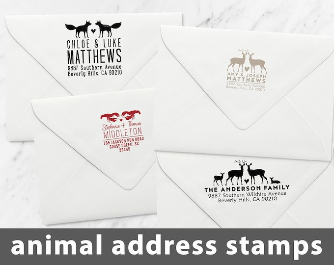 ADDRESS STAMPS Animals