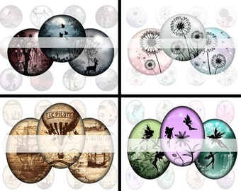 Digital collage sheets