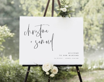 Welcome & Table Signs
