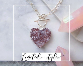 Limited Stock Gems/Druzy