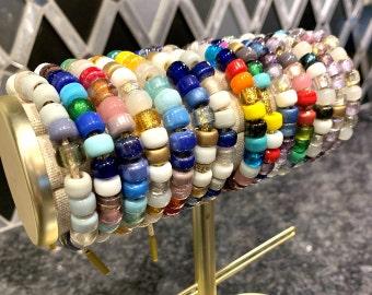 Glass Pony Beads