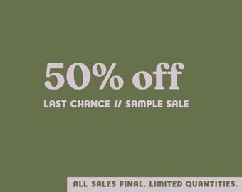 Last Chance (50% Off!)