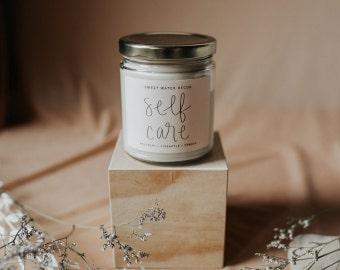 Candles - Clear Jar