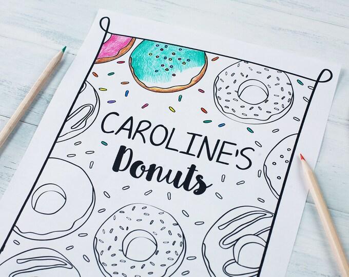 Birthday Coloring Sheets