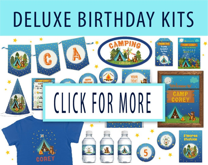 DELUXE Birthday Kits