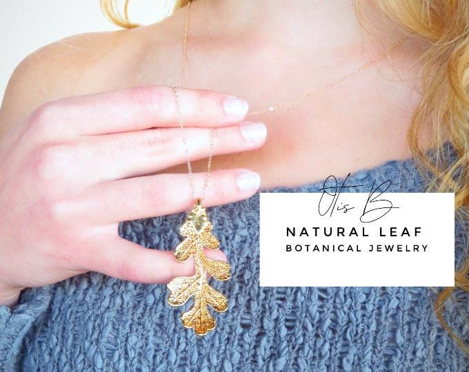 Natural Leaf Jewelry
