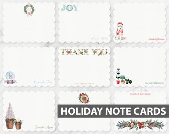 NOTE CARDS Holiday