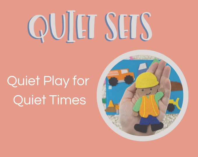 Felt Board 'Quiet Sets'