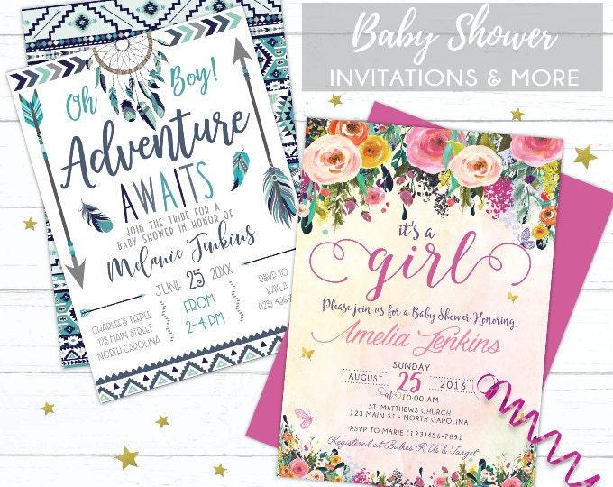 Baby Shower Prints