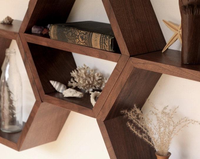Honeycomb Shelves