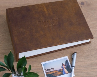 GUEST BOOKS LEATHER