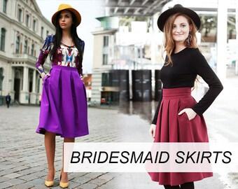 Bridesmaid Skirts