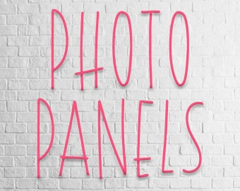 Photo Panels and Tiles