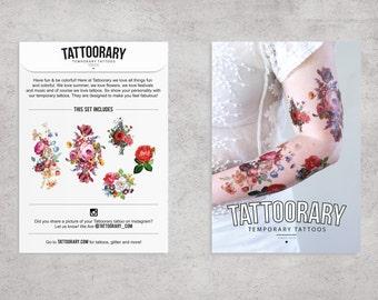 Temporary Tattoo Sets