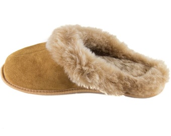 Sheepskin Snuggly Slippers