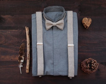 Bow tie and suspenders