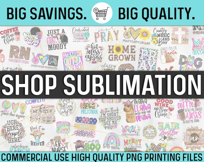 NEW! Sublimation & Print