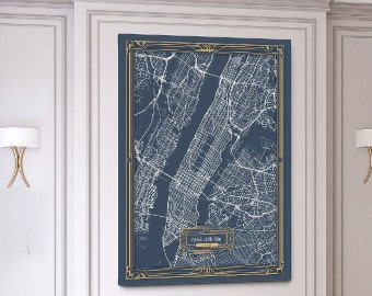 Vertical Canvas Maps