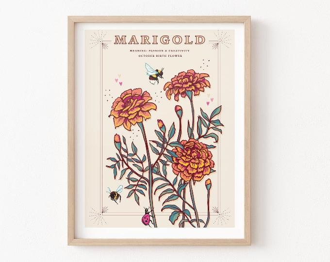 Flower Meanings Prints