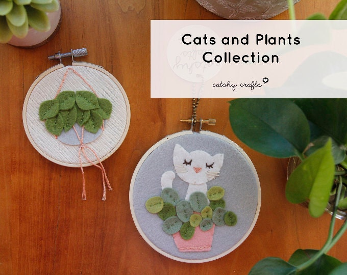 NEW! Cats & Plants