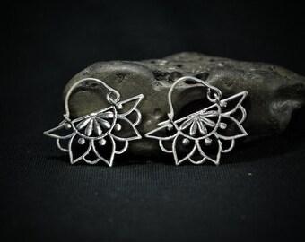 • Silver Earrings