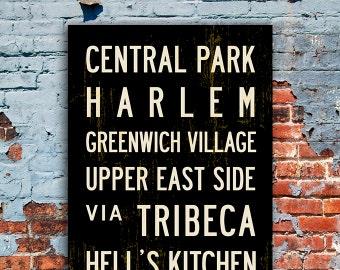 Subway Signs - Large