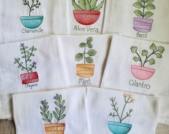 Embroidered Kitchen