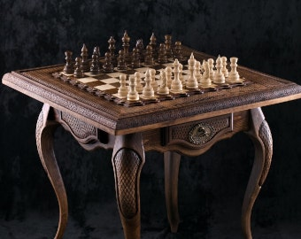 CHESS WITH TABLE