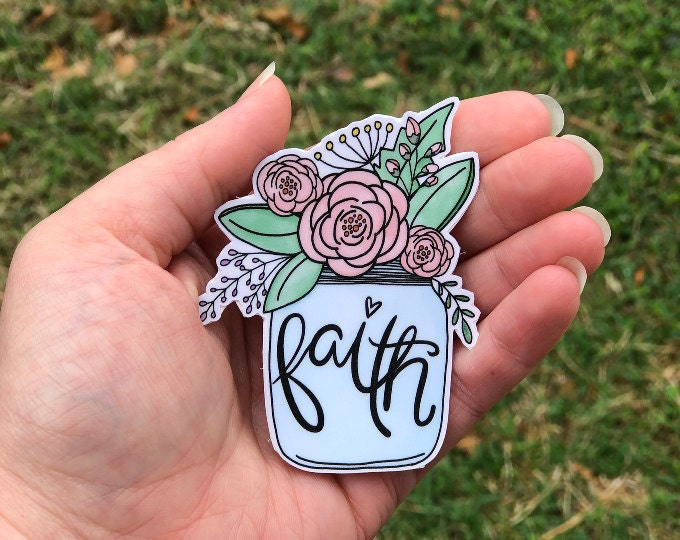 Faith Stickers & Decals