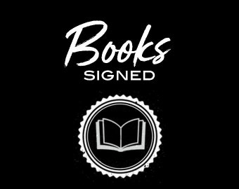 Books (signed)