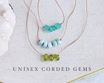 Unisex Cord Necklaces