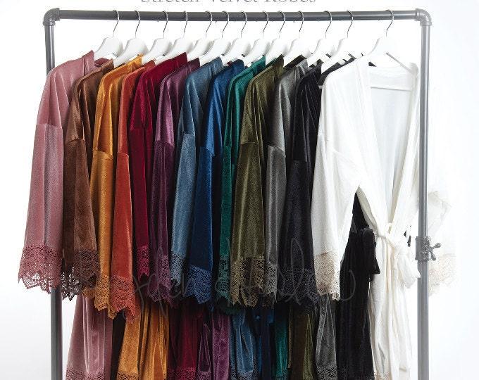 Robes - Velvet (stretch)