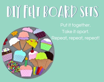 Felt Board 'DIY Sets'