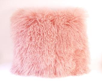 Mongolian Fur Pillows
