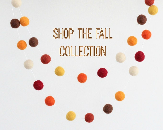 Fall / Halloween Garland