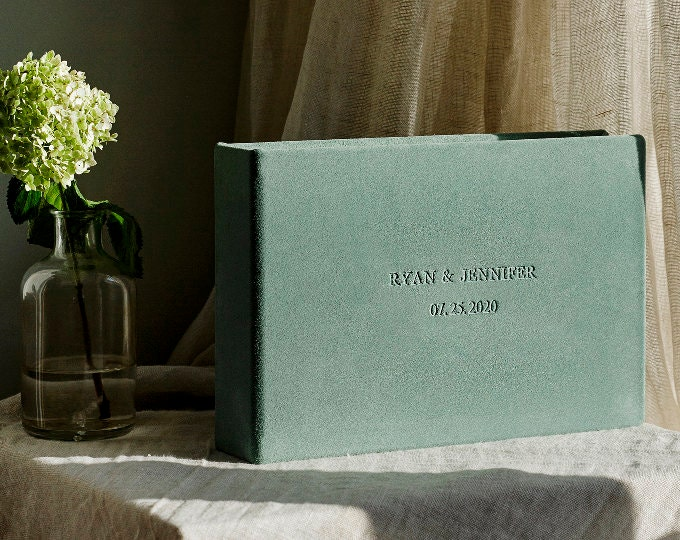 GUEST BOOKS SUEDE