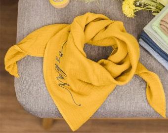 muslin scarves