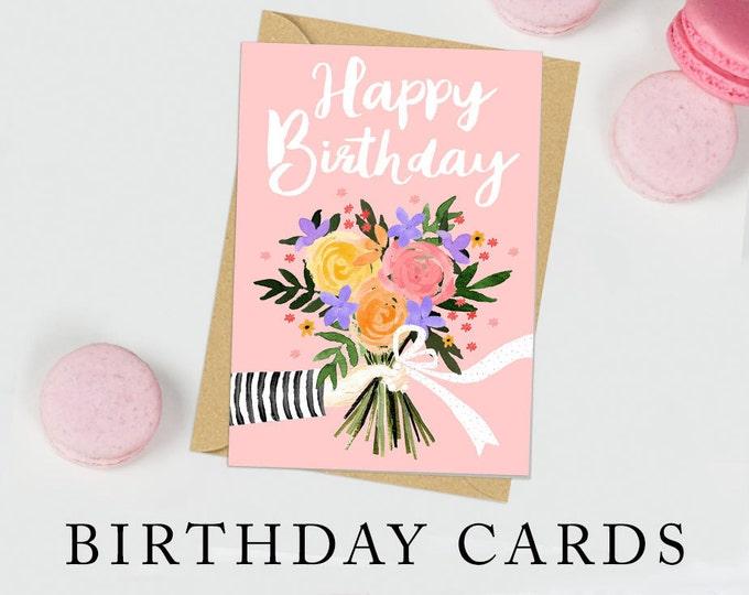 Birthday Cards -  Female