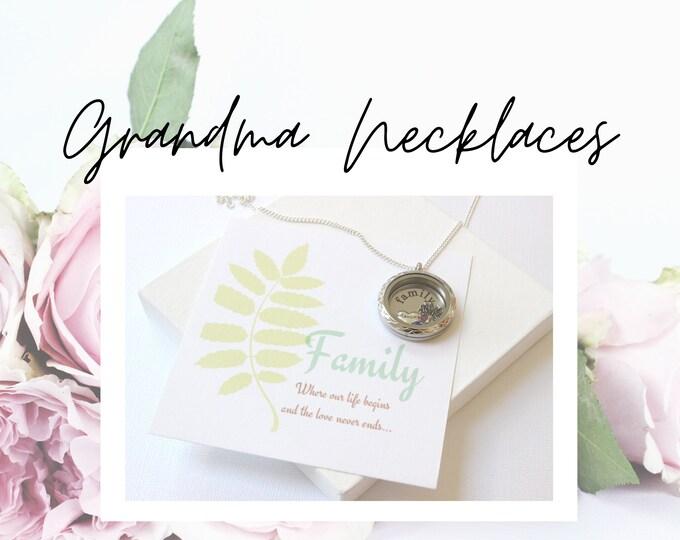 Grandma Necklaces