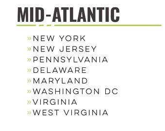 USA - Mid-Atlantic