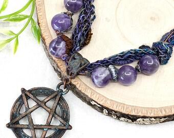 Beaded Pagan Necklaces