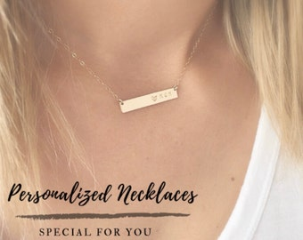 Necklaces - Personalized