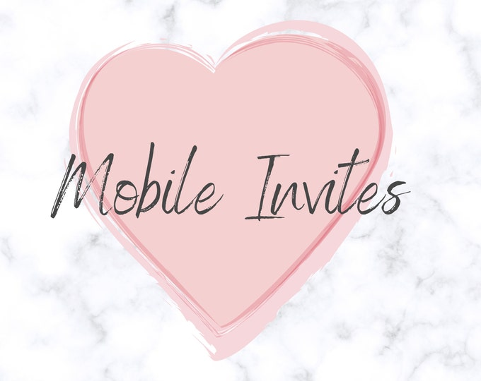 Electronic Invitation