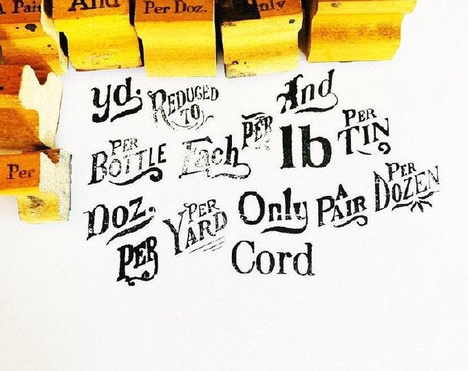 Vintage Rubber Stamps