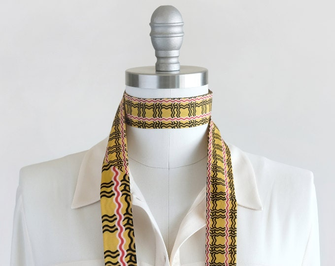 scarves | yellow + gold