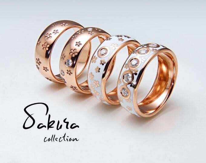 Sakura Ring Collection
