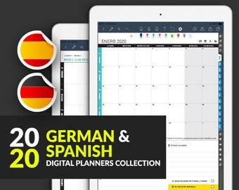 2020 iPad Planner(DE/ES)