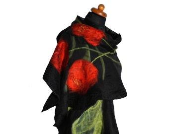 Flower pattern shawls