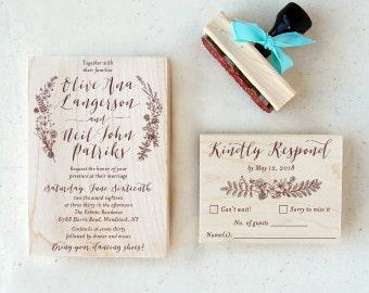 Wedding Invite Stamps